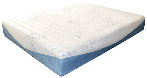 Ezobed Quot Bamboo Quot Memory Foam Mattress 10 Inch Height Gel Infused Medium Firm Certipur Us